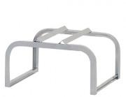 Support galvanisé pour fûts - Dimensions  : 1 160 x 600 x 380 mm