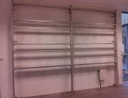 Support mur d'image en aluminium - Support relevable modulaire