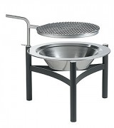 Support pivotant pour barbecue - Support pivotant acier inoxydable