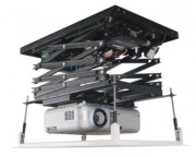 Support plafond élévateur vidéoprojecteur Charge 16 Kg - 87 cm de course - Poids maximum supporté (kg) : 16