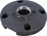Support plafond vidéoprojecteur 152 mm - Aluminium - Diamètre : 152 mm