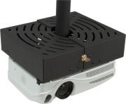 Support plafond vidéoprojecteur avec passage de câble - Dimensions (L x H x P) : 337 x 85 x 291 mm