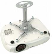 Support plafond videoprojecteur Polaris™ - Bras court réglable de 23 cm à 30 cm et rotatif à 360°