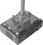 Support plafond vidéoprojecteur universel - Poids maximum supporté : 15 kg