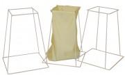Support porte-sac à linge - Dimensions hors tout L x P x H (mm) : 550 x 350 x 750