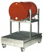 Support pour fûts pivotant - Capacité : 25 Litres