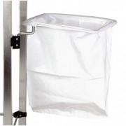 Support sac plastique - En fil inox