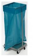 Support sac poubelle 120 L - Pour sacs plastiques de 120 L.