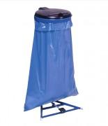 Support sac poubelle avec pédale - Capacité (L) : 120