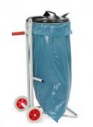 Support sac poubelle mobile 120 Litres - Capacité sac (L) : 120