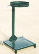 Support sac poubelle mobile - Contenance pour sac de (L) : 80 à 150