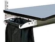 Support sac poubelle pour établi 431 x 307 mm - Dim. utile Lxl (mm) : 380 x 270 / 431 x 307