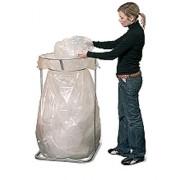 Support sac poubelle pour recyclage - Tri des déchets par types