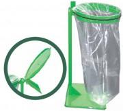 Support sac poubelle sur tube 110 Litres - Peut recevoir des sacs de 110 litres