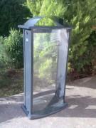 Support sac poubelle transparent