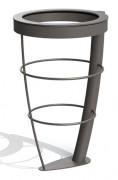 Support sac poubelle vigi-pirate - Diamètre intérieur (mm) : 370