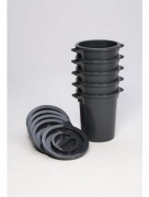 Support sacs plastique - Capacité : 60 - 75 L