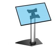 Support sur pied ecran tactile - 2 tailles proposées : hauteur 33 cm ou réglable 70-110cm