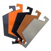 Support tablettes tactile en cuir - Pour Tablettes ou Smartphone en synderme - Cuir recyclé.