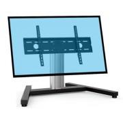 Support tv sur pied 70 cm - 2 modèles proposés : à base fixe ou à roulettes