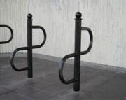 Support vélo 2 positions - Acier galvanisé à chaud