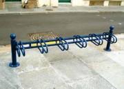 Support vélo 6 positions - Acier peint ou galva