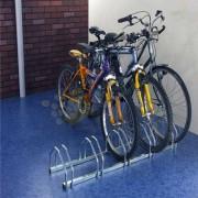 Support vélo face à face - Dimensions (L x h x Prof) : 720 x 500 x 330 ou 1320 x 500 x 330 mm