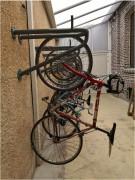 Support vélo mural - Remontée automatique du vélo