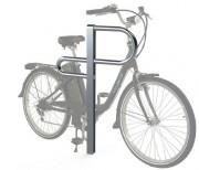 Support vélos inox - Hauteur : 82 cm - Largeur : 04 cm