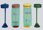 Supports sacs poubelle vigipirates - Sur poteau