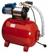 Surpresseur avec réservoir à vessie prégonflé en usine - Dimensions : 650 / 360 / 620