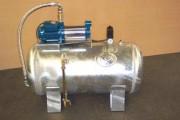 Surpresseur réservoir galvanisé - Capacité (L) : 100 - 150 - 200