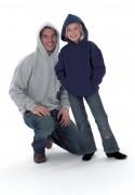 Sweat-shirt personnalisé à capuche - Tailles : XS - S - M - L - XL - 2XL - 3XL