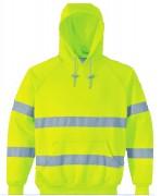 Sweatshirt haute visibilité à capuche - Tailles : de S à 5XL