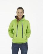 Sweatshirt personnalisé à poche kangourou - Tailles : XS - S - M - L - XL - 2XL - 3XL - 4XL