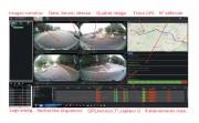 SYSTEME 360 COMPLET (4CAMERAS)   ECRAN 10 - Voltage : 12v -24 v