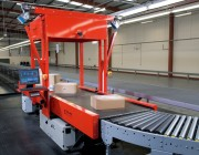 Système analyseur automatique d'enregistrement colis - Vitesse de bande de 1m/s