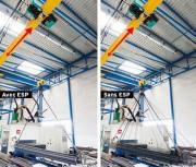 Système anti-balancement de charge - Réduction des coûts de maintenance