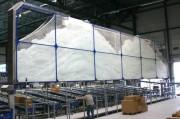 Système automatique de production de coussins d'air - De haute technologie