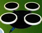 Système d'aération à eau professionnel - Plan d'eau : de 15000m² à 20000m²