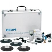 Système d'enregistrement numérique pour conférence - 4 micros conférence 360°
