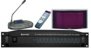 Système d'interprétation simultanée sans-fil par infrarouge - Canaux d'interprètes pour 12 langues