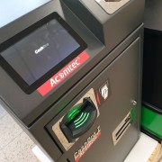 Système de caisse automatique - Monnayeur à système d'autodiagnostic