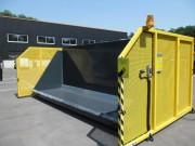 Système de chargement pour bennes depuis le sol - Élévateur pour Vider dans Benne amovible de 8 à 15 m³