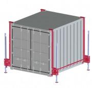 Système de levage container - Charges admissibles :4 à 20 T