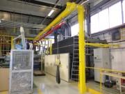 Système de levage monorail - Produit sur mesure équipé de l'appareillage nécessaire
