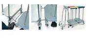 Système de liasion - Vente par option pour chariot porte-sacs