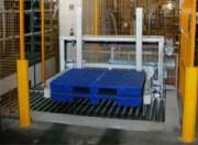 Système de logistique pour retourneur pile professionnel - Système de logistique automatisé