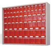 Système de rayonnage pour bacs à bec - Vendu vide - 2 modèles
