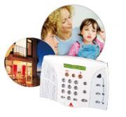 Système de sécurité résidentiel sans fil - Personnalisation des détecteurs et des utilisateurs